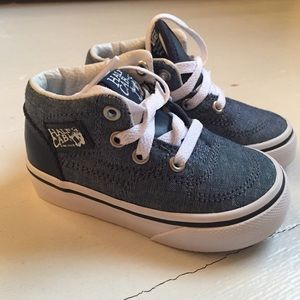 aad260602c0 Vans Toddler Half Cab Chambray BRAND NEW 4.5